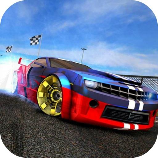 Racing Car Driving City