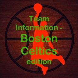 Team Information - NBA Boston Celtics edition