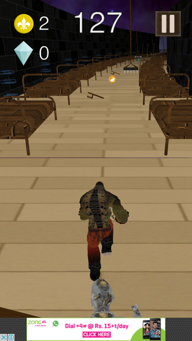 3D Super Run for Suicide Fighters screenshot two