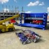 怪物卡车式破碎机自卸吊车驾驶模拟器