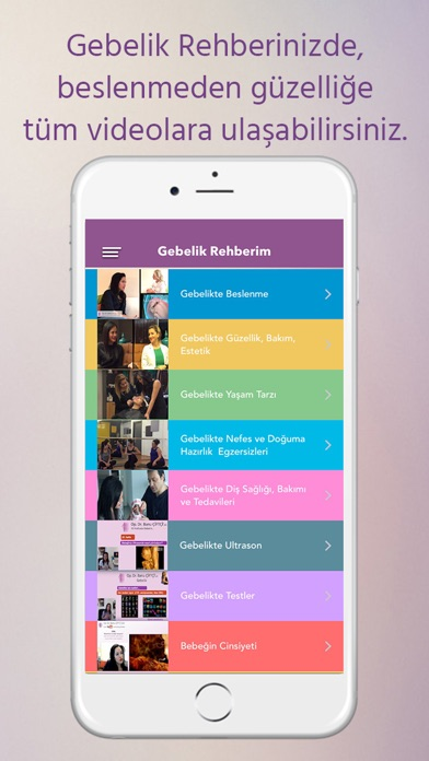 Screenshot for Op.Dr. Banu Çiftçi & Hamilelik in Turkey App Store