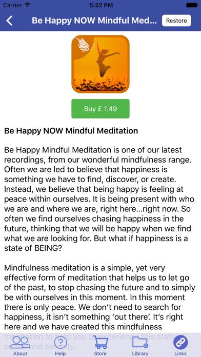 Sleep Well NOW: Mindfulness Meditations for Sleep screenshot four