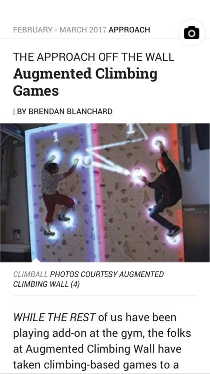 Climbing Magazine screenshot-4