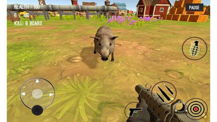 Wild Zoo Animals Hunting City screenshot-4