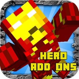 SUPER HERO ADD ONS FOR MINECRAFT POCKET EDITION