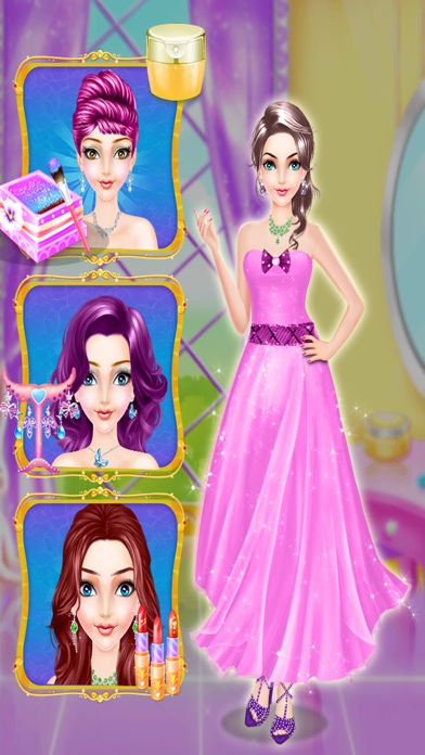Royal Beauty Queen Salon Pro screenshot one