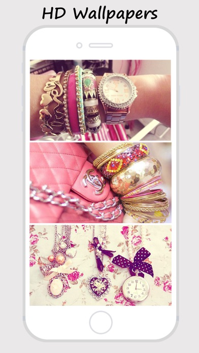 Girly Walls Cute Girl Image For Home Lock Screen App Mobile