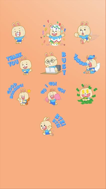 LIttle Bunny Sticker screenshot-4