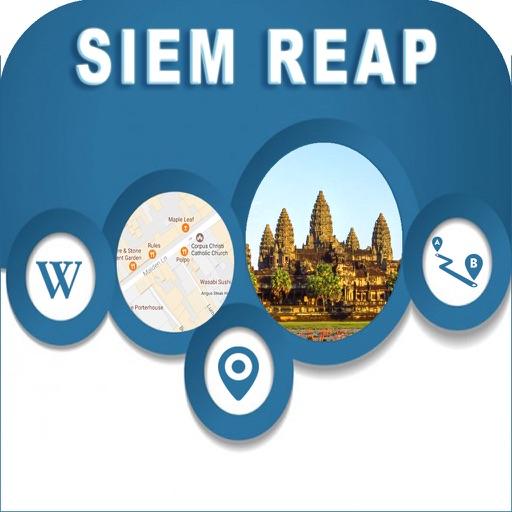 Siem Reap Cambodia Offline City Maps Navigation