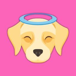 Cream Labrador Retriever Stickers