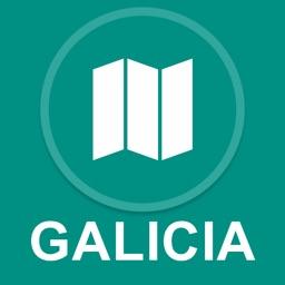 Galicia, Spain : Offline GPS Navigation