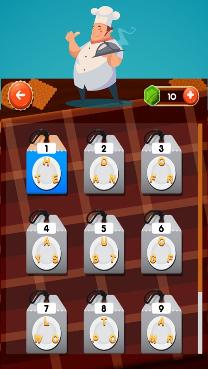 Word Chef Cookies! Find Hidden Answer From Food