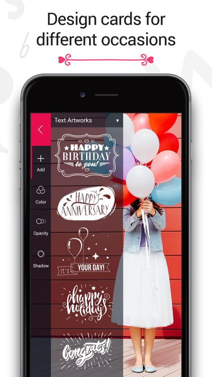 Fontmania - Add Artworks & Text to Your Photos! app image