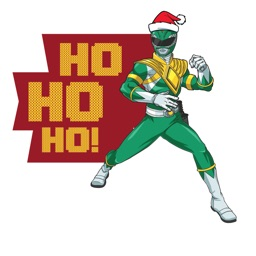 Power Rangers Holiday Stickers