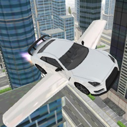 Fly-ing Sports Car Sim-ulator 3D