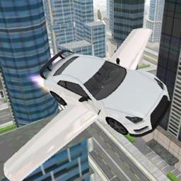 Fly-ing Sports Car Sim-ulator 3D