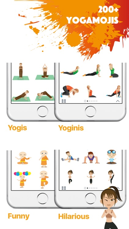 YOGAMOJI - Yoga Emojis & Stickers Keyboard