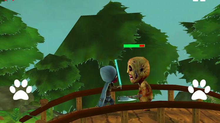 Ninja Fight With Zombies screenshot-4