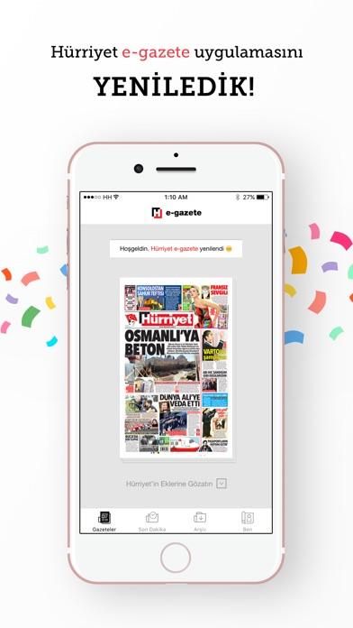 E Gazete review screenshots