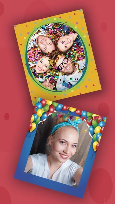 Birthday party photo frames for kids – Pro screenshot one