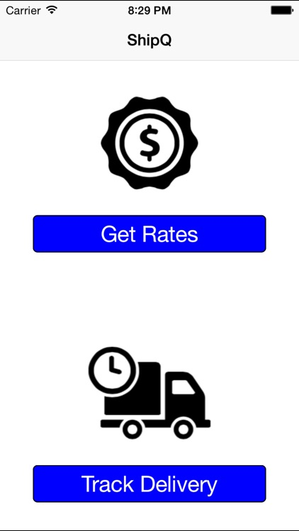 ShipQ - parcel post shipping rates, track packages screenshot-3