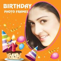 Birthday Photo Frames app