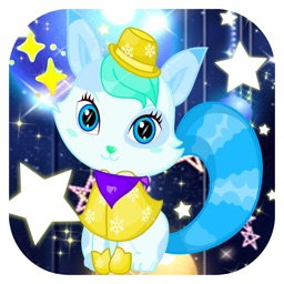 Cute fox-Pet care game