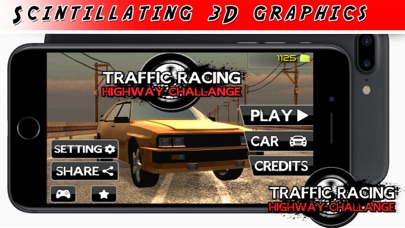 A High Speed City Chase - The Racing Driving Game screenshot two