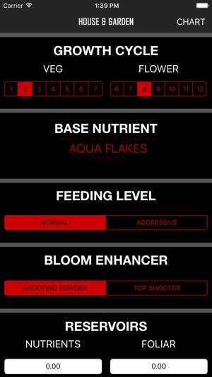 House & Garden Nutrient App on the App Store