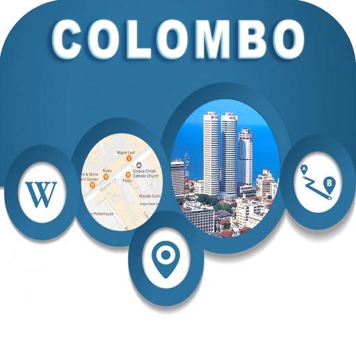 Colombo Srilanka City Offline Map Navigation EGATE