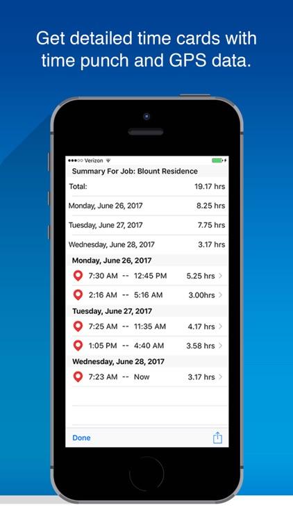 OnSite Time-Tracker screenshot-4