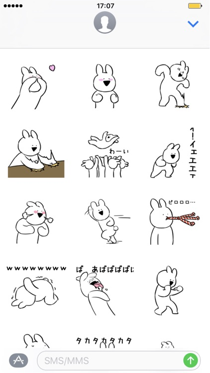 Extremely Rabbit Sticker Pack vol.2