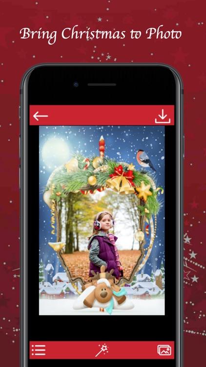 Christmas Photo Frame - Instant Frame Maker