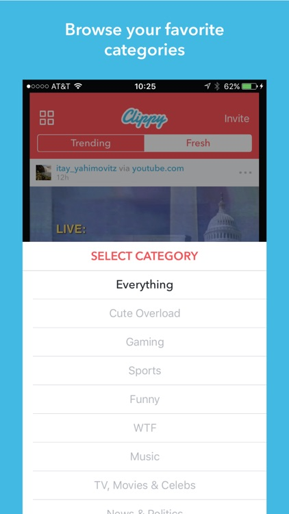 Clippy - share videos by Sourmash Labs Inc