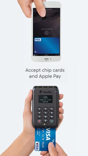 credit card reader for iphone paypal here point of on the app 3543