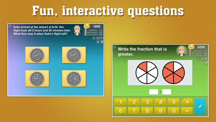3rd Grade Math: Fractions, Geometry, Common Core