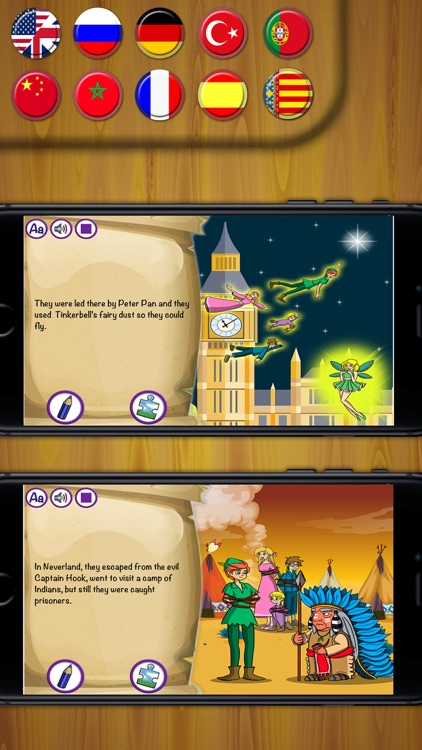 Peter Pan Classic tales - interactive books