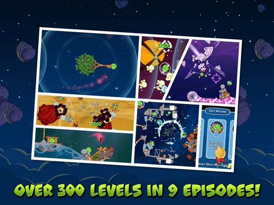 Angry Birds Space HD Screenshots