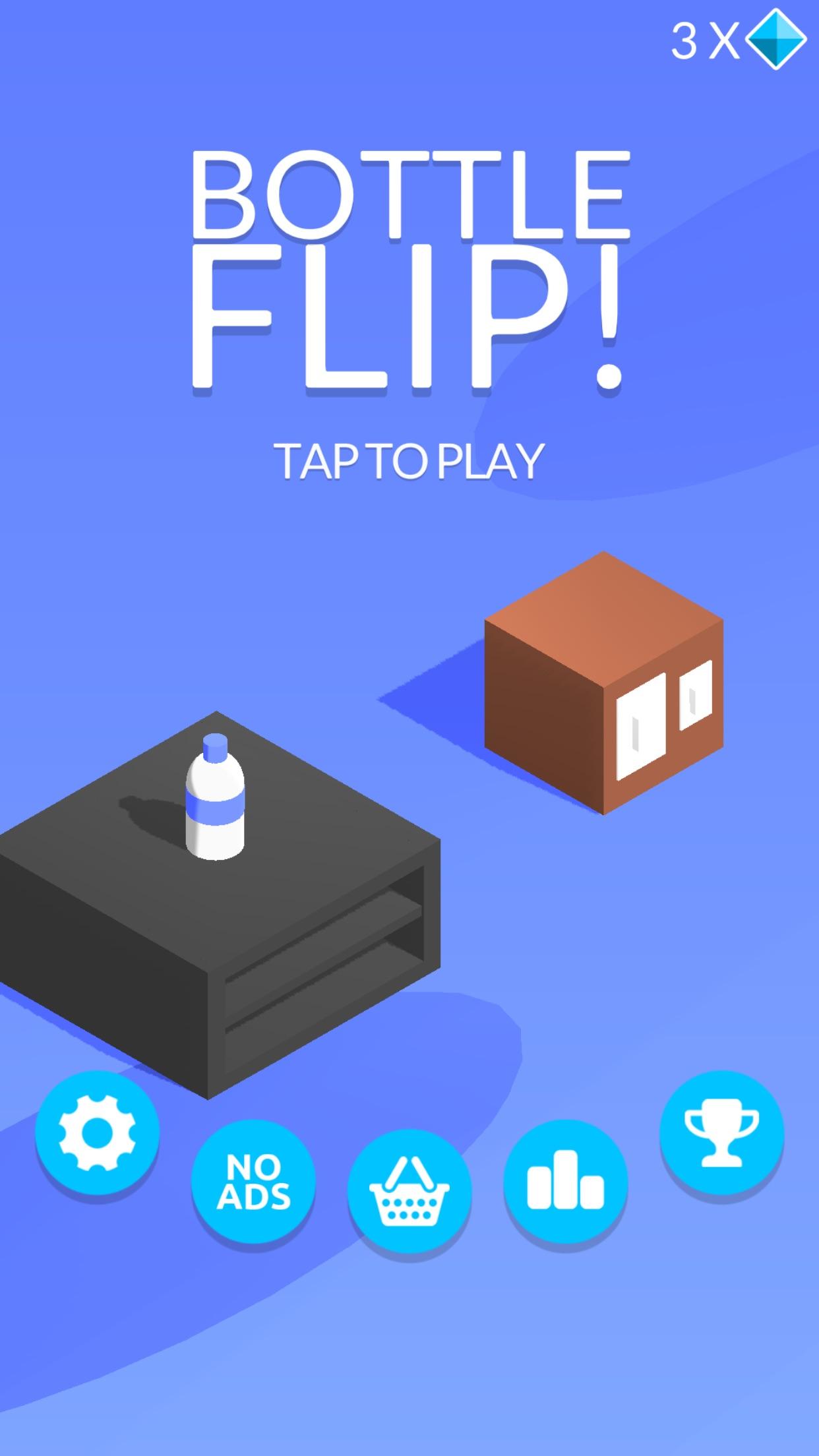 Bottle Flip! Screenshot