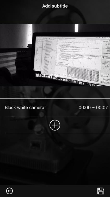 B&W Camera Pro - Vintage Fliter&Retro Effect Cam