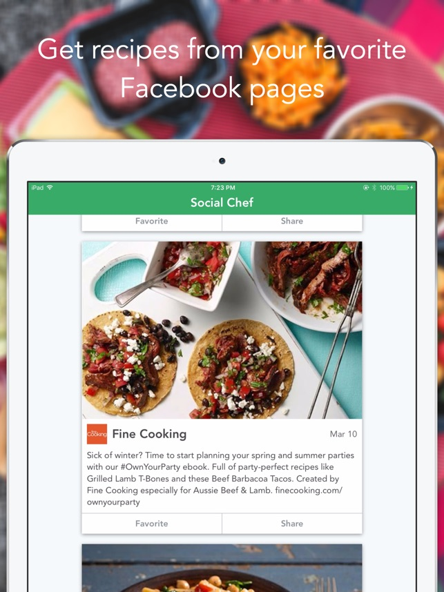 Social chef on the app store social chef on the app store forumfinder Images