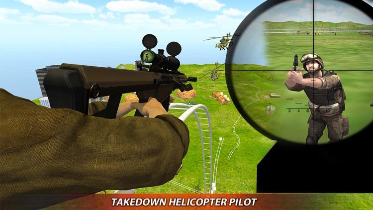 Roller Coaster Army Commando Battle: Shooting Game