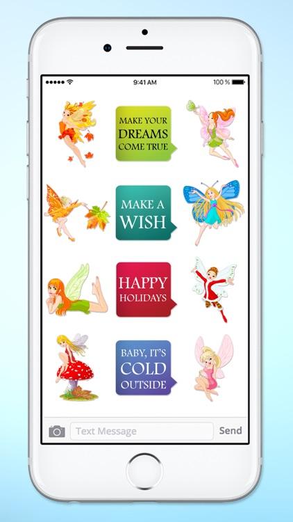 Magic Fairy Messages A Magical Sticker Pack screenshot-4
