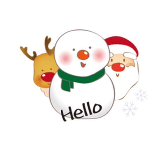 Many Stickers Of Santa Claus Snowman And Teddy