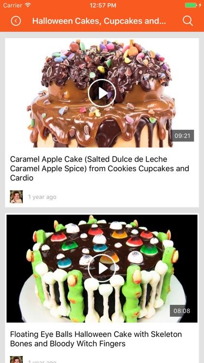 Cake recipes cookbook, baking & cooking videos screenshot-3