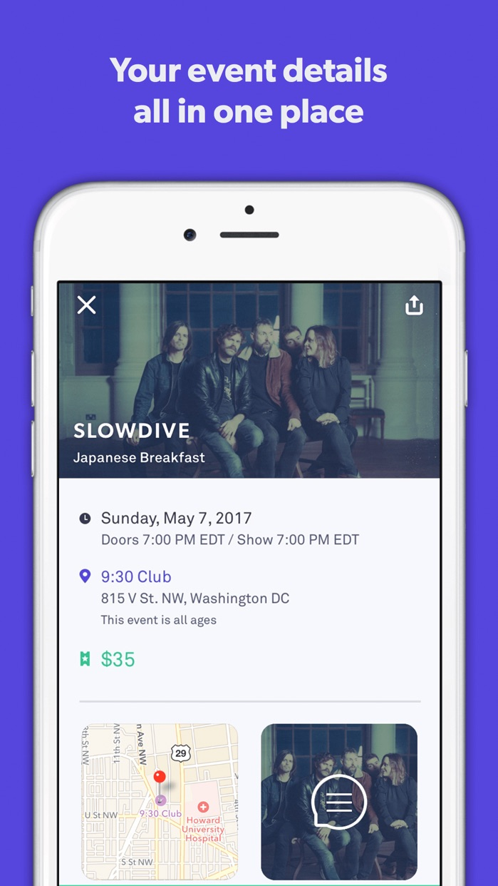 Ticketfly - Buy tickets for live events near you Screenshot