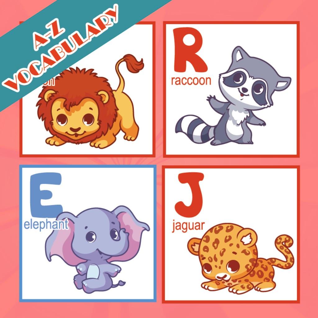 Animals A-Z Good Vocabulary Words For Kindergarten hack