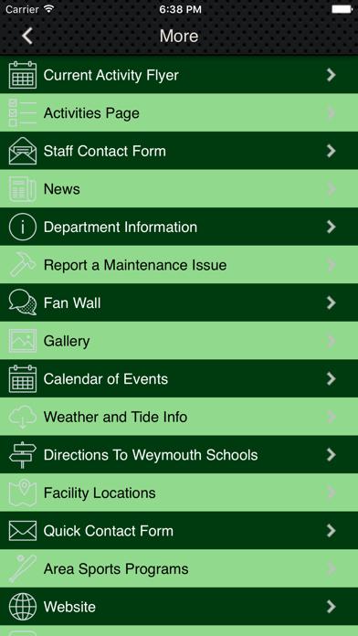 Weymouth Recreation screenshot two