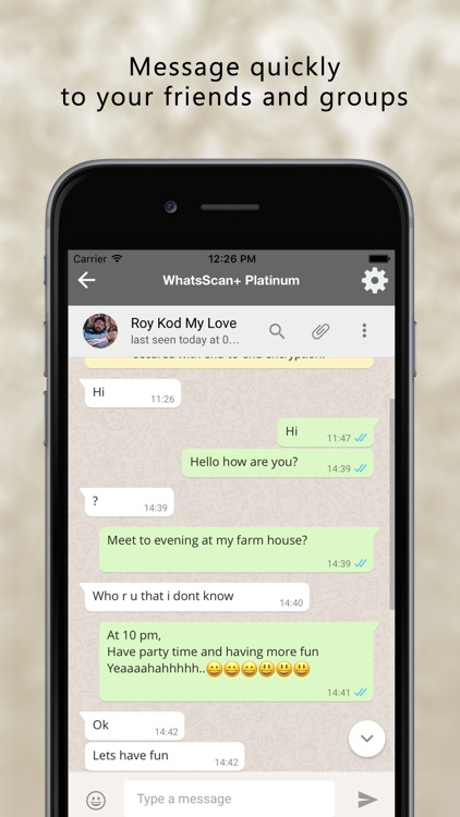 WhatScan+ for WhatWeb ChatApp screenshot-2