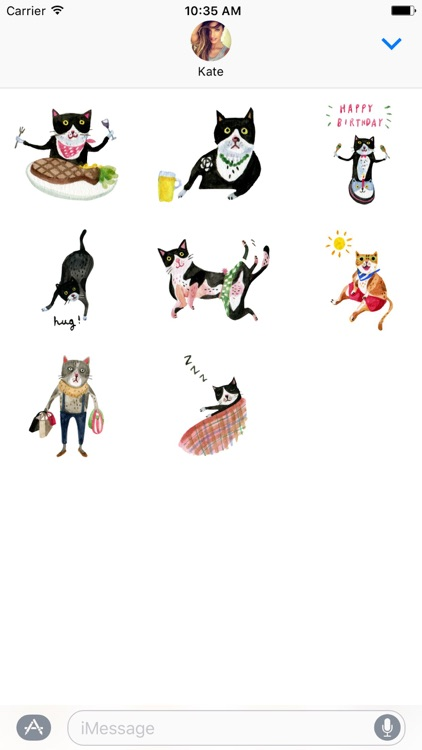Freaky The Cat Stickers screenshot-3